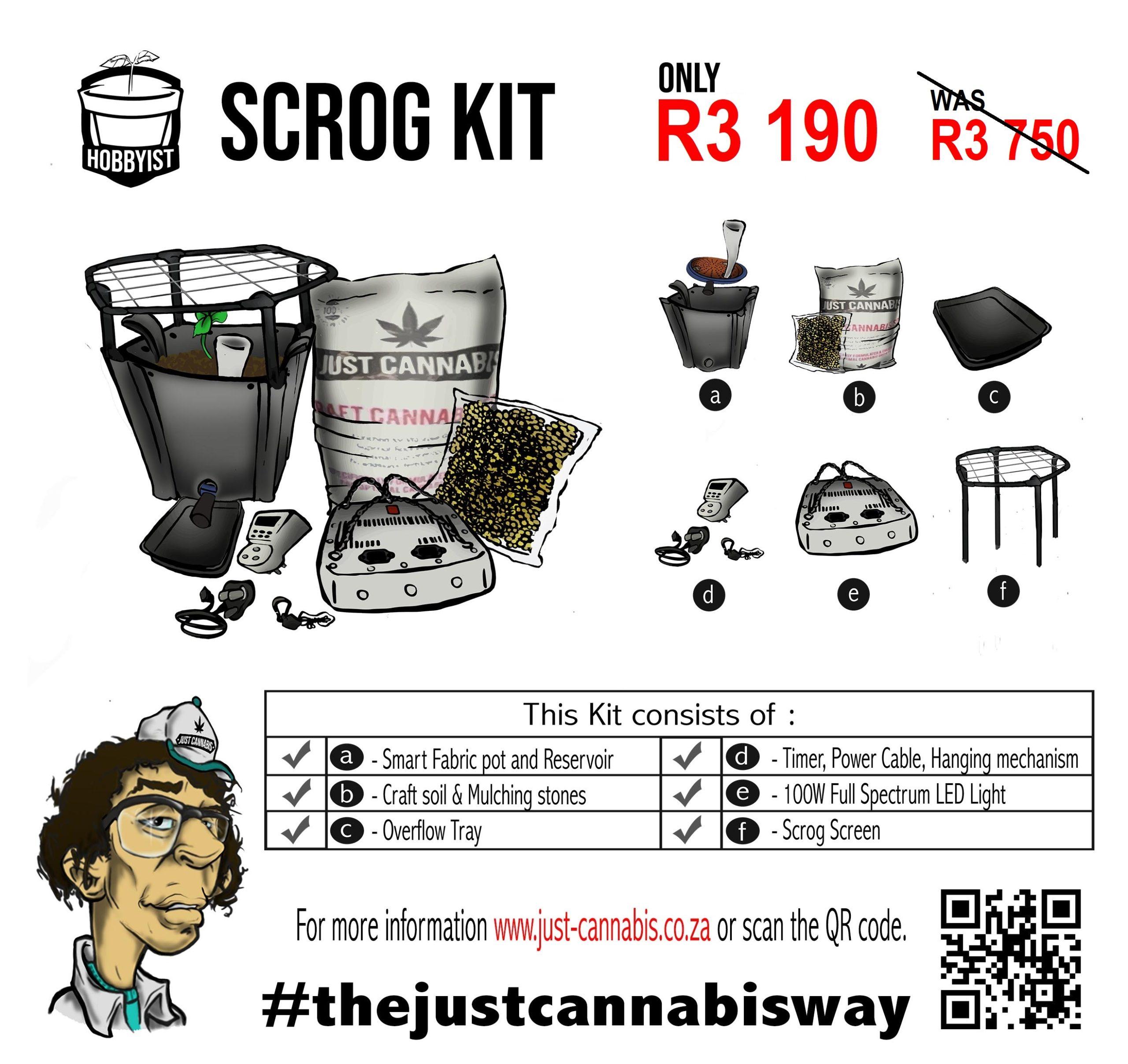 Hobbyist Scrog Kit