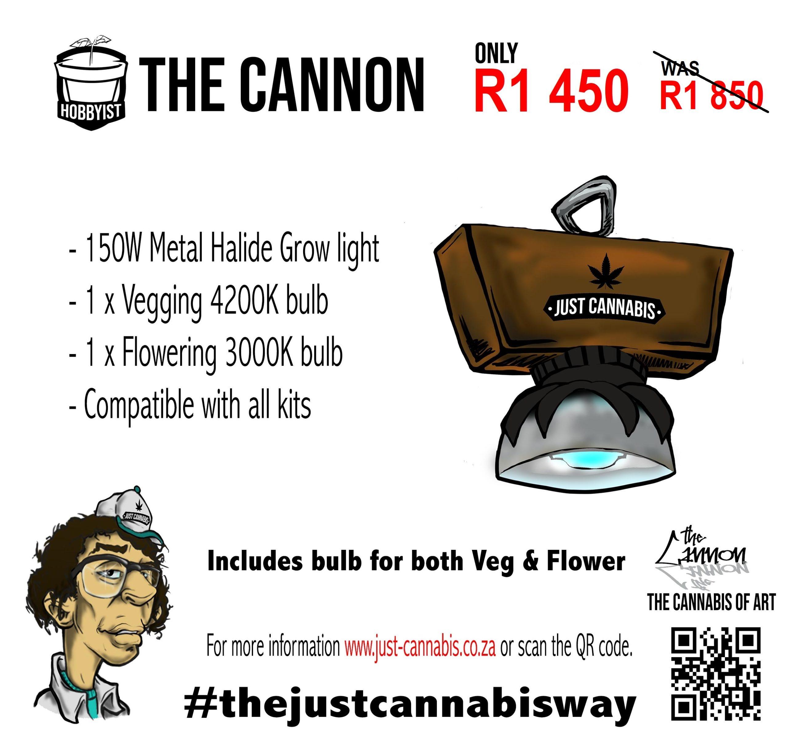 The Cannon Grow Light