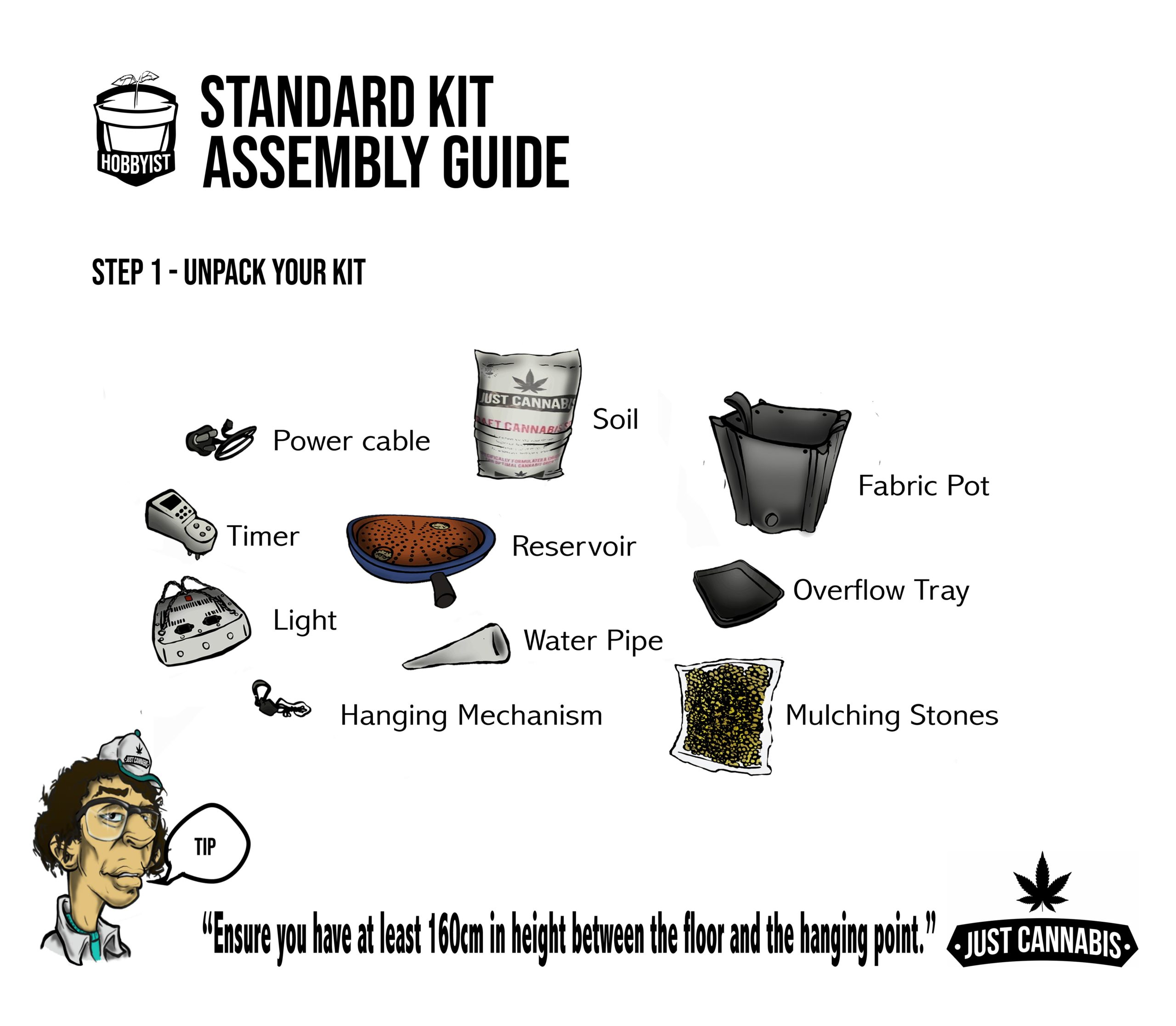 instruc page 1standardkit