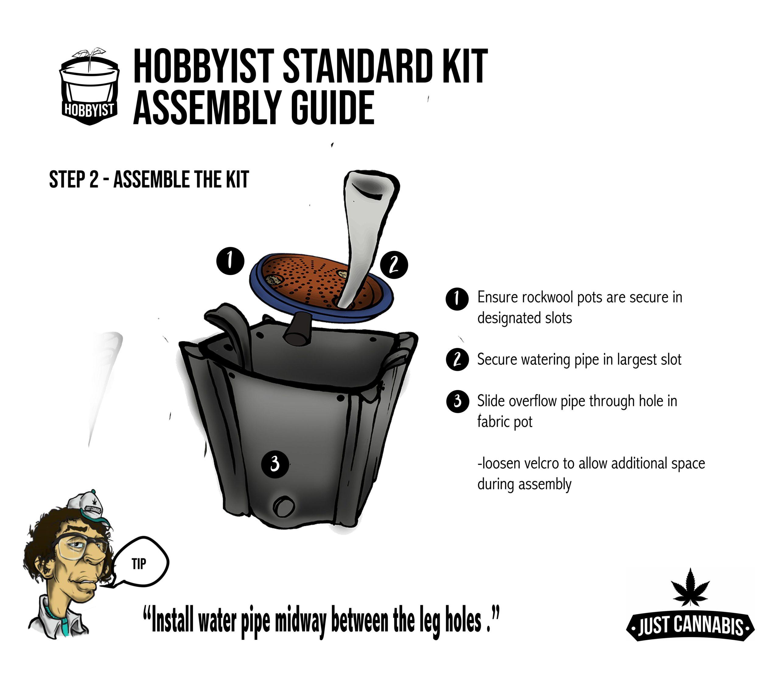 instruc page 2standardkit