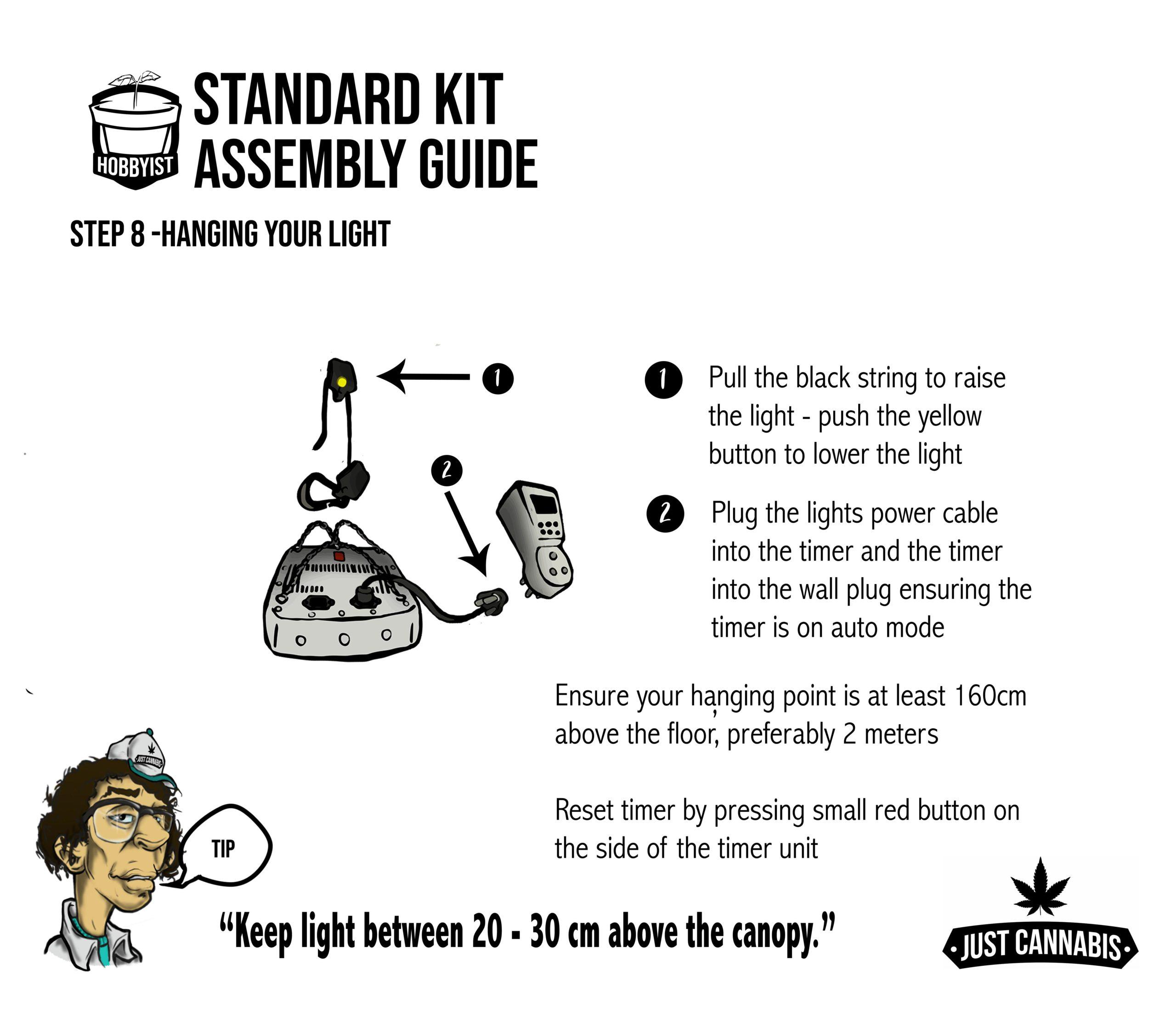 instruc page 8standardkit
