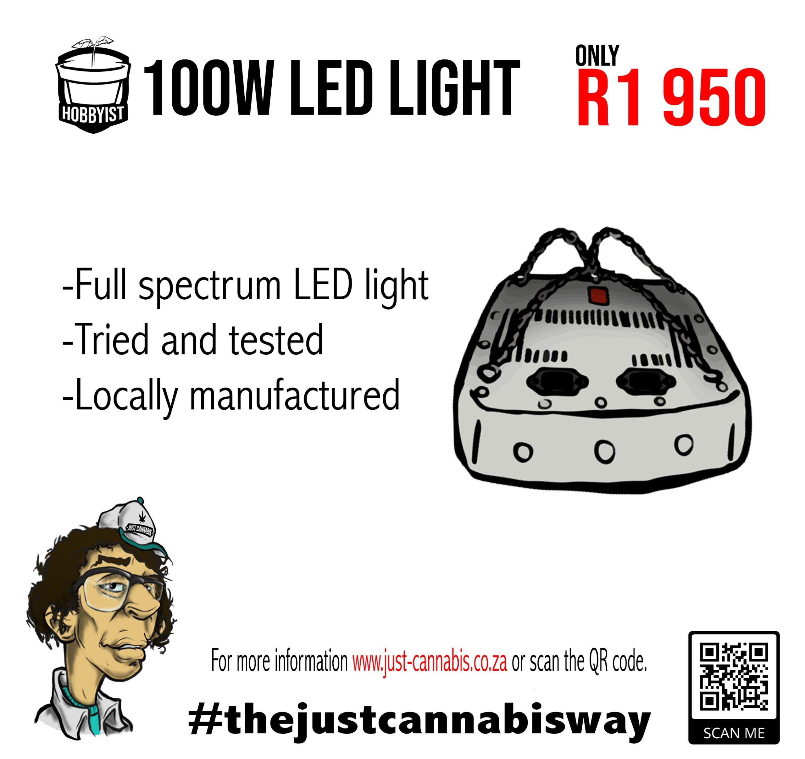 100W Full Spectrum LED Light