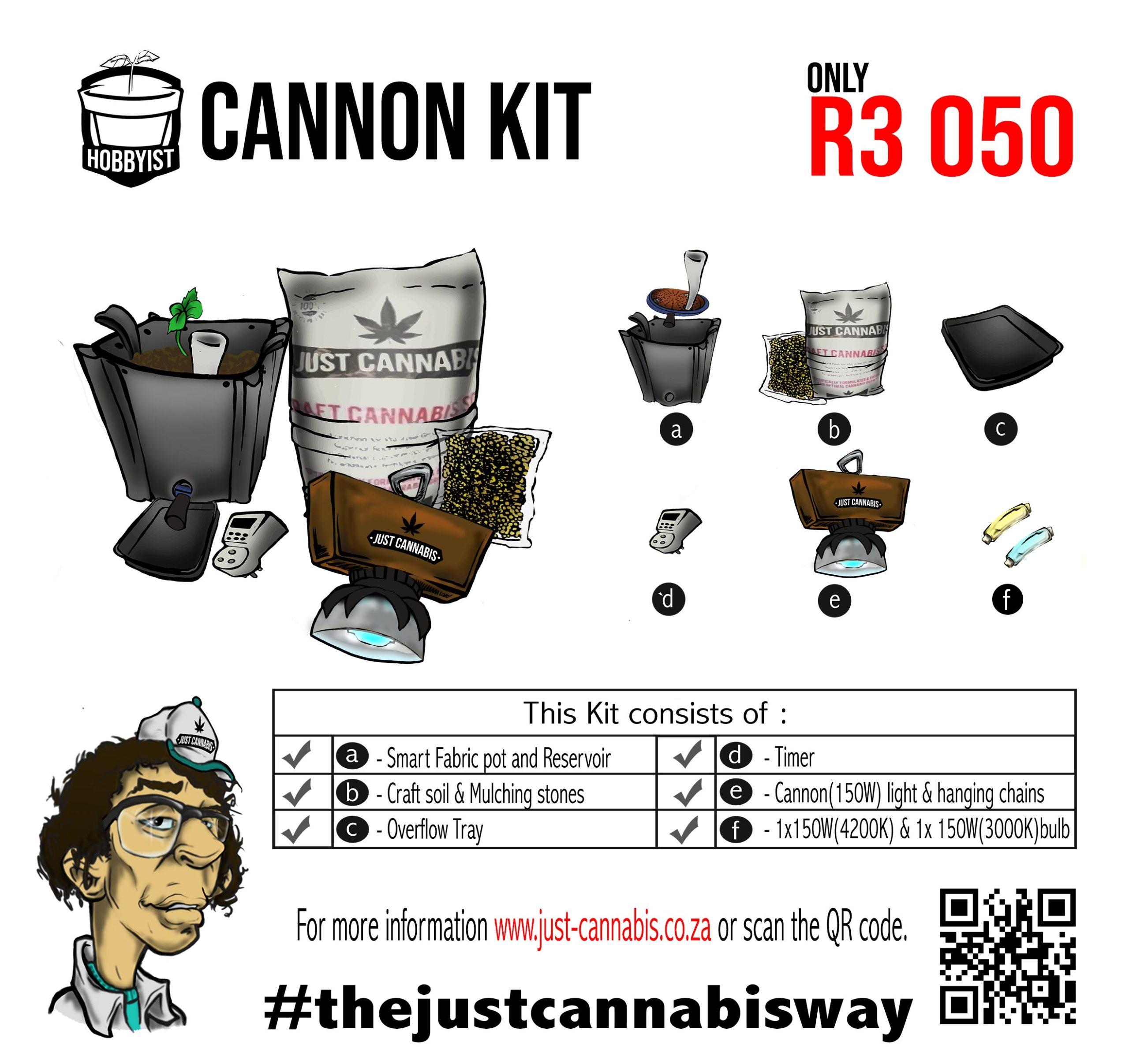 Hobbyist Cannon Kit