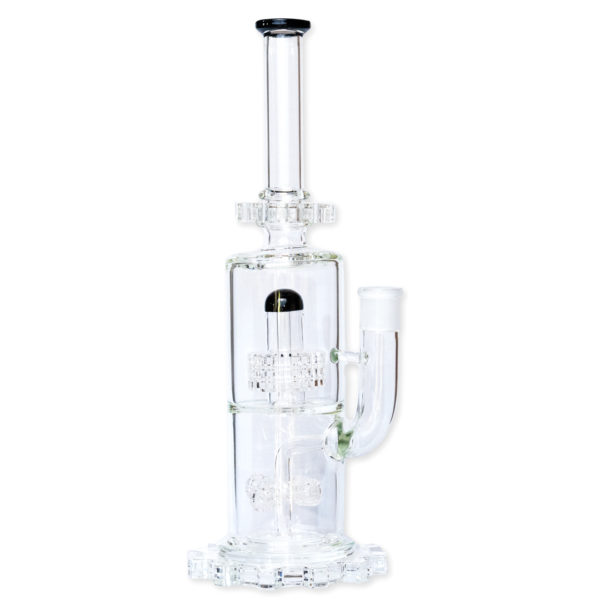 Straight Tube Geared Dab Rig