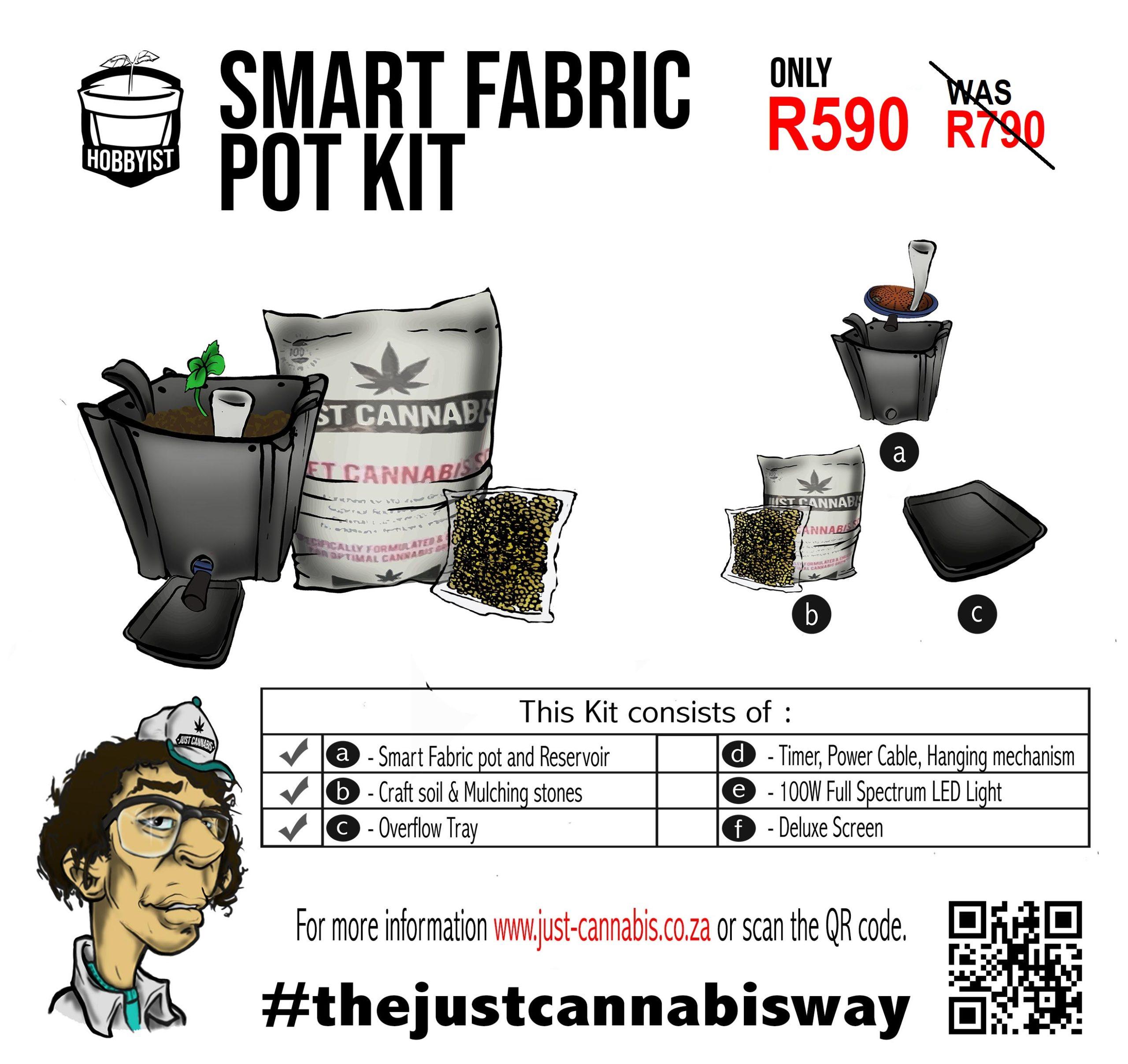 Hobbyist Smart Fabric Pot Kit
